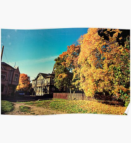 Autumn is Golden Poster