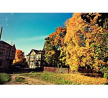 Autumn is Golden Photographic Print