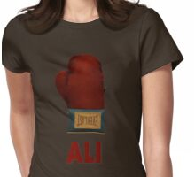 Ali Boxing Glove for Peace Poster Womens Fitted T-Shirt
