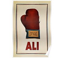 Ali Boxing Glove for Peace Poster Poster