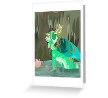 PerytonQuest - Swamp Bath Greeting Card