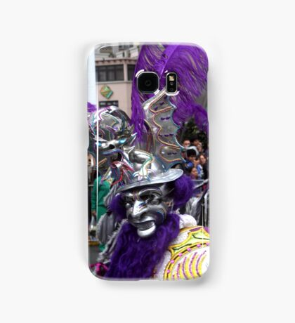 Folk Dancing Diablada Corso Wong Samsung Galaxy Case/Skin