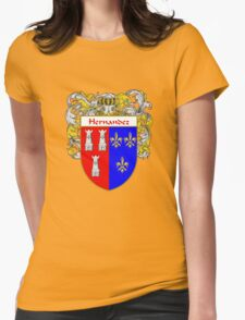 Hernandez Coat of Arms/Family Crest Womens Fitted T-Shirt