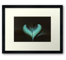 Love Infinity Framed Print
