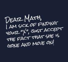 Dear Math by e2productions