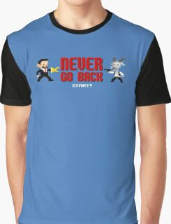 Never Go Back Graphic T-Shirt