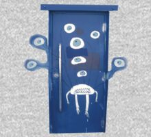 A door with eyes- wall art by DAdeSimone