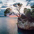 Sunset at Brela  by Robert Kelch, M.D.