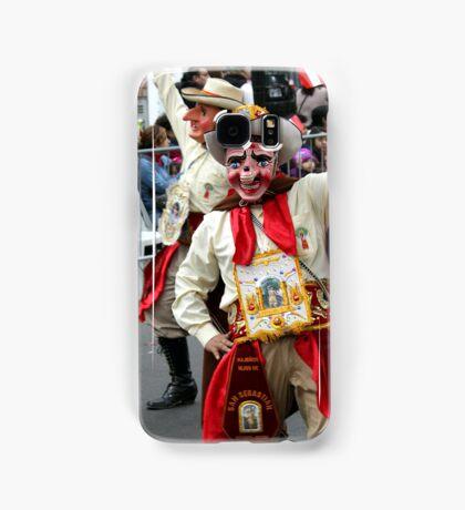 Folk Dancing Majeños Corso Wong Samsung Galaxy Case/Skin