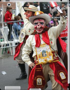 Folk Dancing Majeños Corso Wong by Luis Fernando Del Águila Mejía