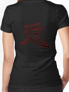 Become: Akuma 1 Women's Fitted V-Neck T-Shirt
