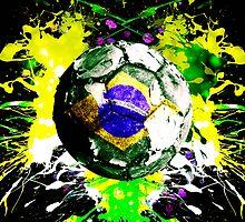 football Brazil by sebmcnulty