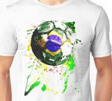 football Brazil Unisex T-Shirt