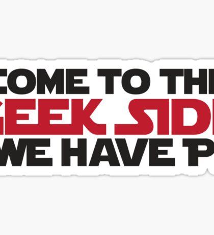 Geek Side Sticker