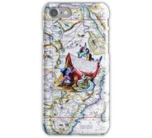 Antique Vintage Map of Africa iPhone Case/Skin