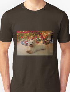 Christmas Dog - West Highland Terrier T-Shirt