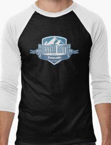 Crested Butte Colorado Ski Resort Men's Baseball ¾ T-Shirt