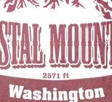 Crystal Mountain Washington Ski Resort Sticker