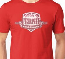 Fernie British Columbia Ski Resorts Unisex T-Shirt