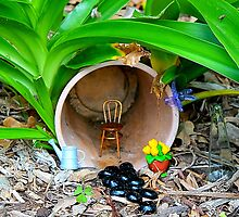 Fairy House in the Garden by PrettyLilly