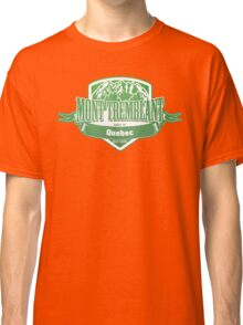 Mont Tremblant Quebec Ski Resort Classic T-Shirt