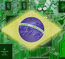 circuit board Brazil by sebmcnulty