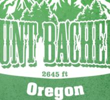 Mount Bachelor Oregon Ski Resort Sticker