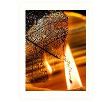 Dark Flames Art Print