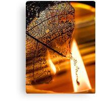 Dark Flames Canvas Print