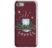 Winter Coffee iPhone Case/Skin
