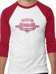 Panorama British Columbia Ski Resort Men's Baseball ¾ T-Shirt