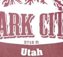 Park City Utah Ski Resort Sticker
