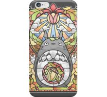 Stained Glass Forest Spirit iPhone Case/Skin