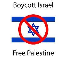 Boycott Israel T-shirt Photographic Print