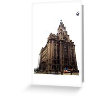 Liver Building, Liverpool Greeting Card