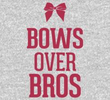 Bows over Bros Magenta Red Pink by RexLambo