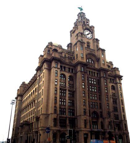 Liver Building, Liverpool Sticker