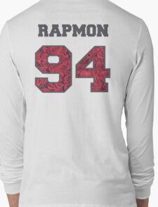 BTS- RAPMON 94 Line Flower Design Long Sleeve T-Shirt