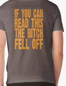 If you can read this Mens V-Neck T-Shirt