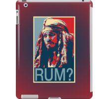 Jack Sparrow for President iPad Case/Skin