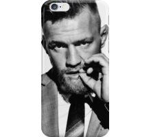 Conor McGregor b/w iPhone Case/Skin