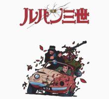 Lupin - Jigen by anarky85