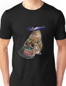 Day Of The Dead Squirrel Unisex T-Shirt