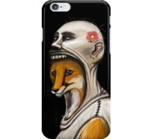 Mrs. Fox and her new leather coat iPhone Case/Skin