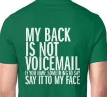 My back Unisex T-Shirt
