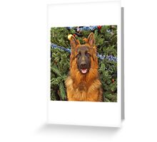 Gusto at Christmas Greeting Card