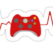 Xbox 360 gamer in my veins Sticker