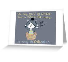 Temz d best Greeting Card