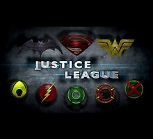 Justice League Calendar by BigRockDJ