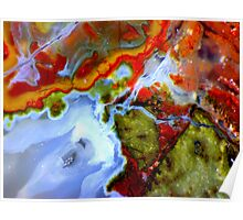 Oasis (Plume Agate) Poster